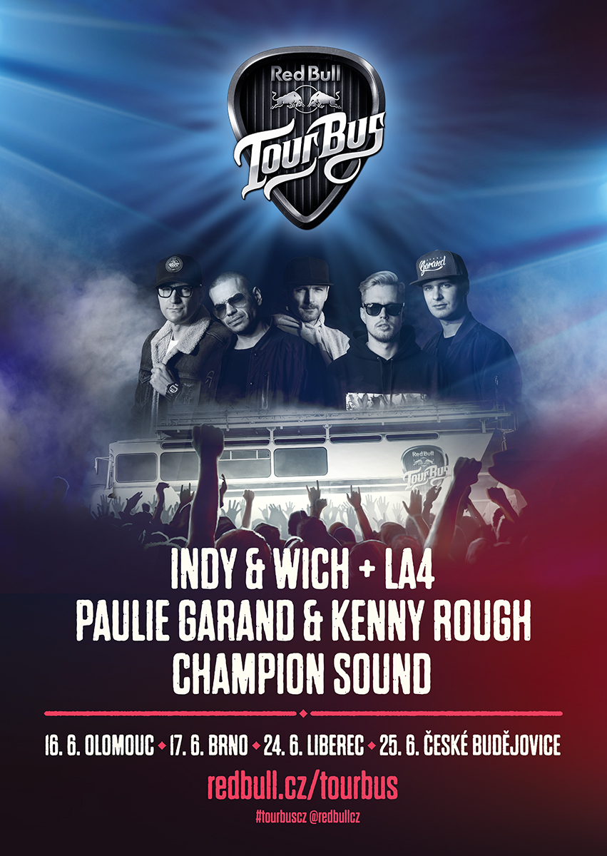 Red Bull Tour Bus 2016